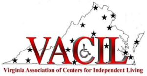 VACIL Virginia Association of Centers for Independent Living Logo