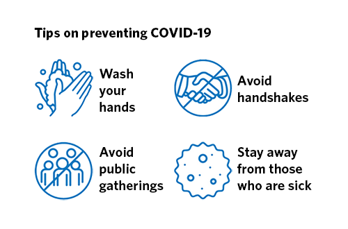 Tips on preventing COVID-19